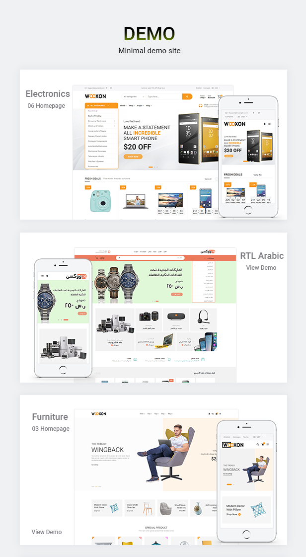 Wooxon - WooCommerce WordPress Theme - 1